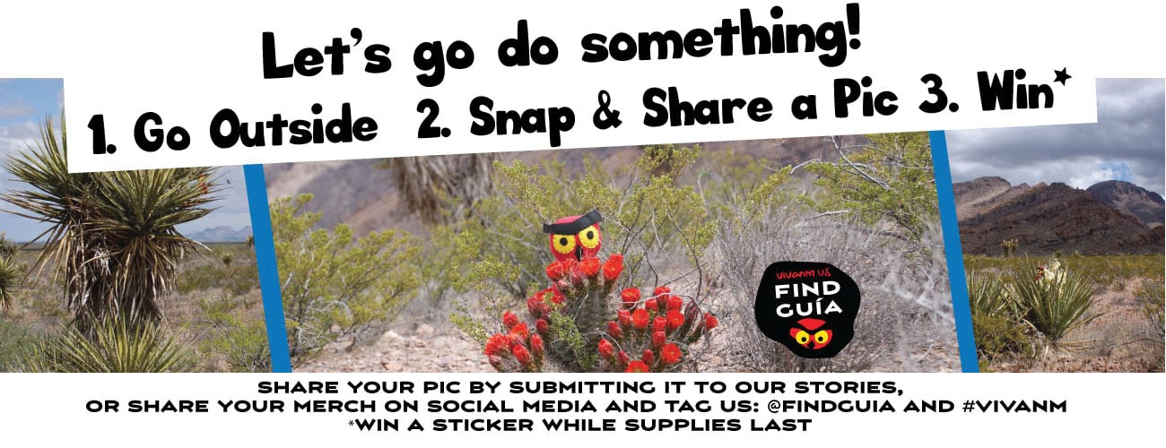 Share your New Mexico Adventures and Win Stickers