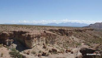 Box Canyon View of Organ Mountains