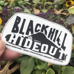 Blackhill Hideout Sticker