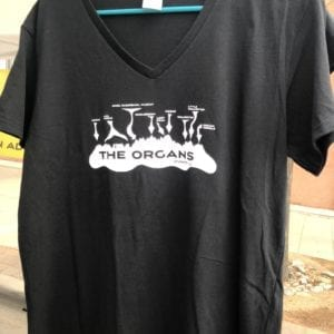 The Organs V-Neck T-Shirt