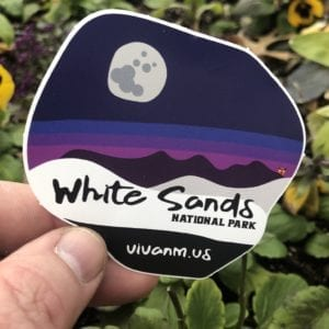White Sands National Park Sticker
