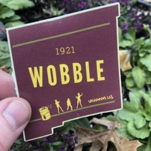 NMSU Wobble Sticker