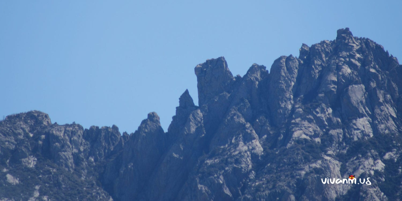 Organ Mountain Peaks