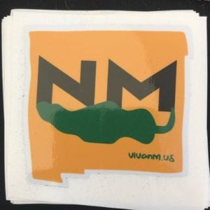 NM Green Chile Sticker