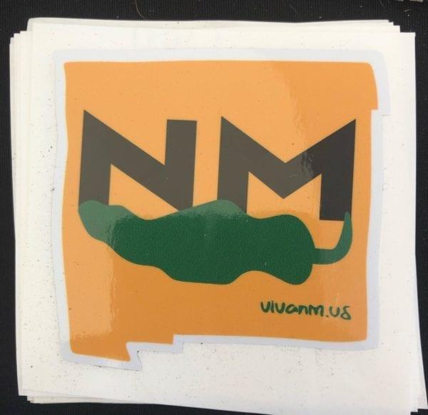 NM Green Chile Sticker