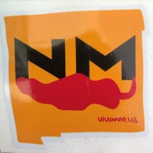 NM Red Chile Sticker