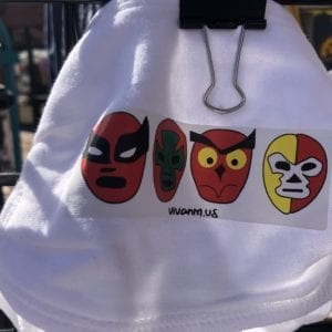 Luchadores Mask